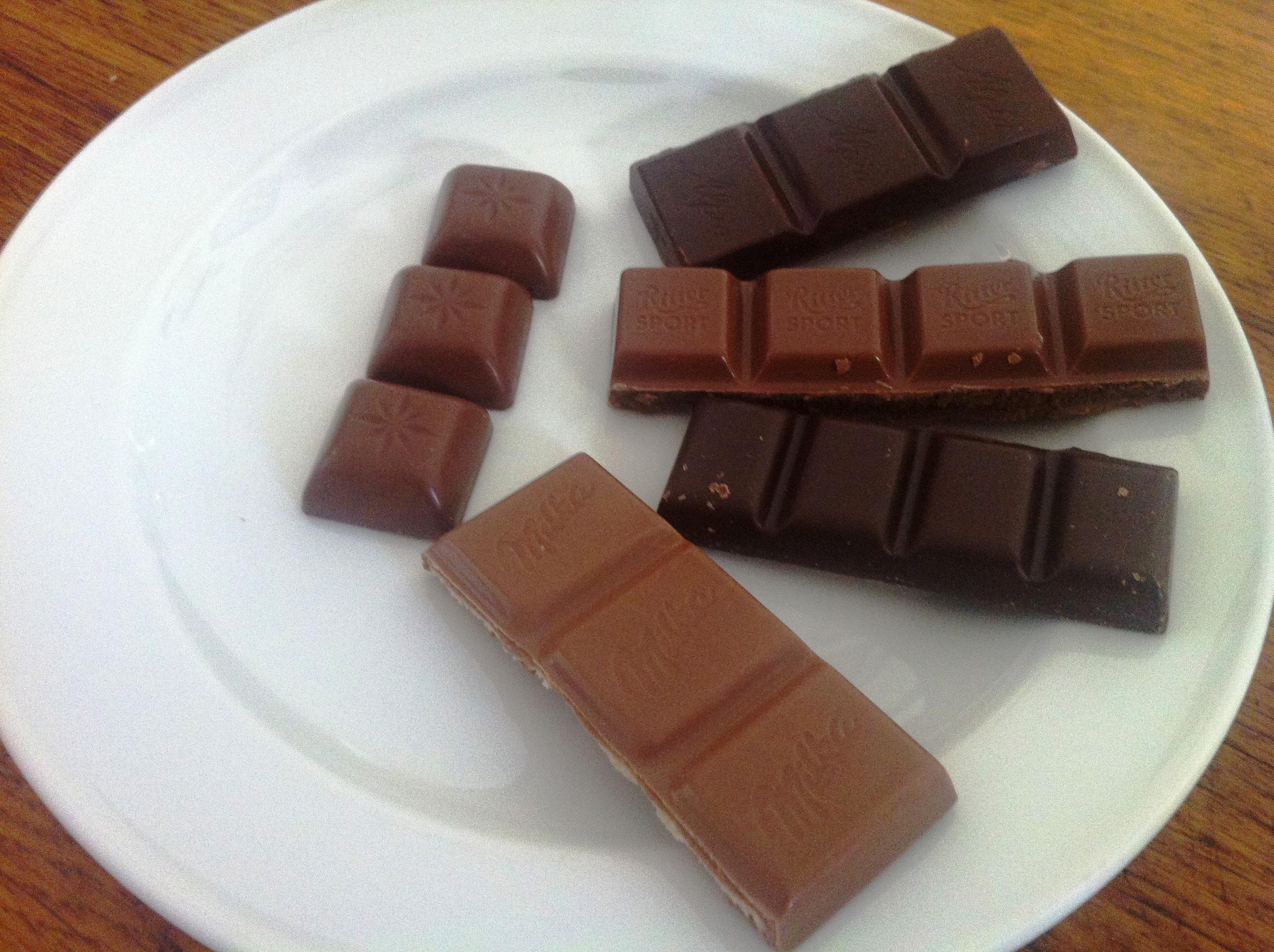 Test Schokolade