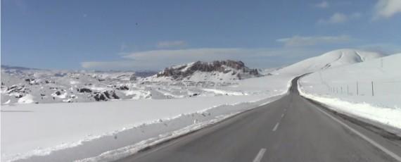 Eiswüste zwischen Igdir und Kars