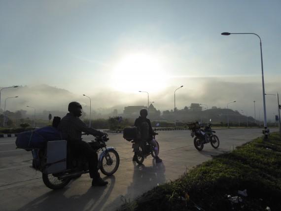 Mit dem Motorrad in Laos